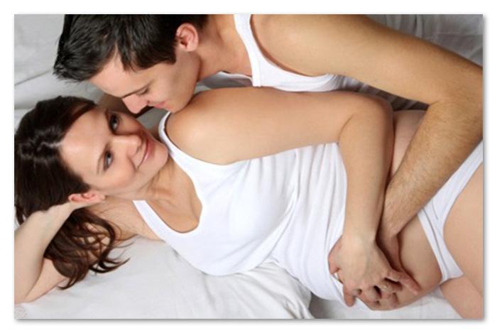 Знятие сексом у беременных